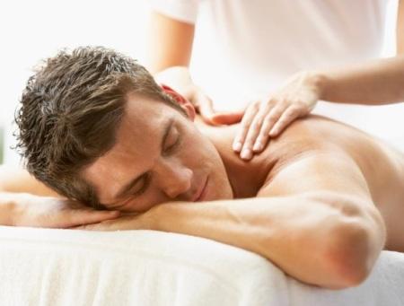 классический массаж для мужчин в СПб